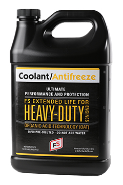 FS Extended Life 50/50 Pre-Diluted Coolant/Antifreeze OAT (Yellow)