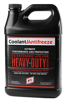 FS Extended Life 50/50 Pre-Diluted NOAT Coolant/Antifreeze (Red)
